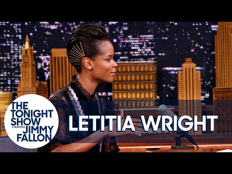 """""""What Are Those"""" Meme Has Black Panther's Letitia Wright's Shoe Game Under Attack"""