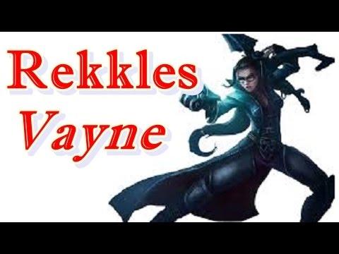 LOL Pro - Rekkles Vayne vs Lucian - Korea SoloQ