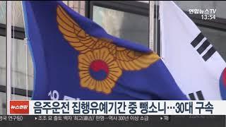 음주운전 집행유예기간 중 뺑소니…30대 구속 / 연합뉴스TV (YonhapnewsTV)