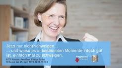 """BCCG Members4Members Webinar Petra Lienhop: """"Jetzt nur nicht schweigen."""""""