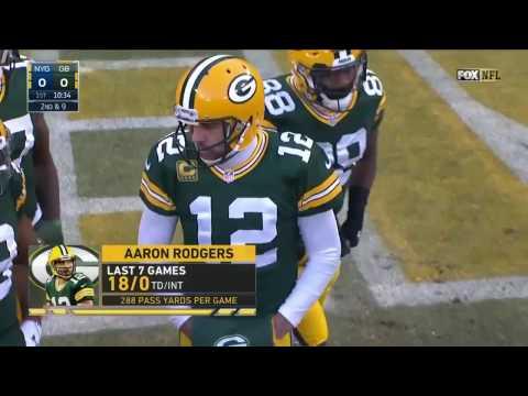 Aaron Rodgers vs Giants (NFL Wildcard - 2016) - 362 Yards + 4 TDs! | NFL Highlights HD