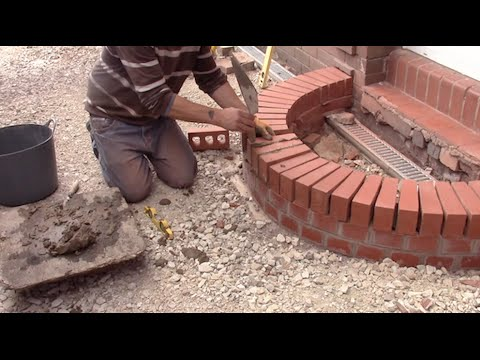 How To Build A Curved Brick Step You