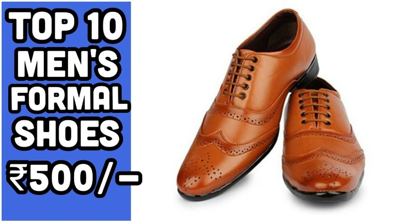 Men's formal shoes   under ₹500