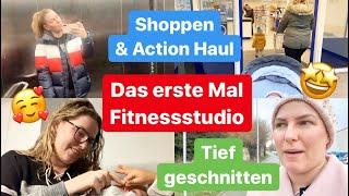 Im Fitnessstudio angemeldet l Beauty l Shoppen l Samu erzählt l Action Haul l Vlog 1048