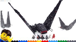 lEGO Star Wars 2019 Kylo Ren's Shuttle Review - 75256