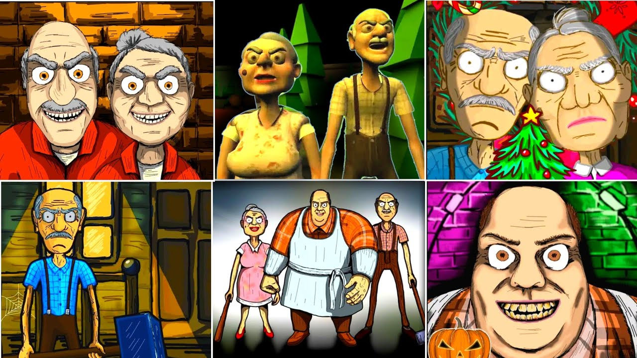 Download WildGamesNet Game Over   Grandpa and Granny 3 - Grandpa and Granny House - Grandpa and Granny Two