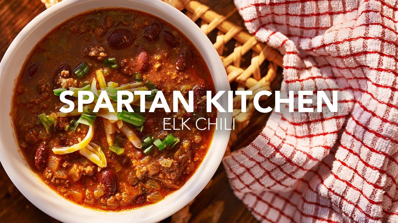 Spartan Kitchen Elk Chili Youtube