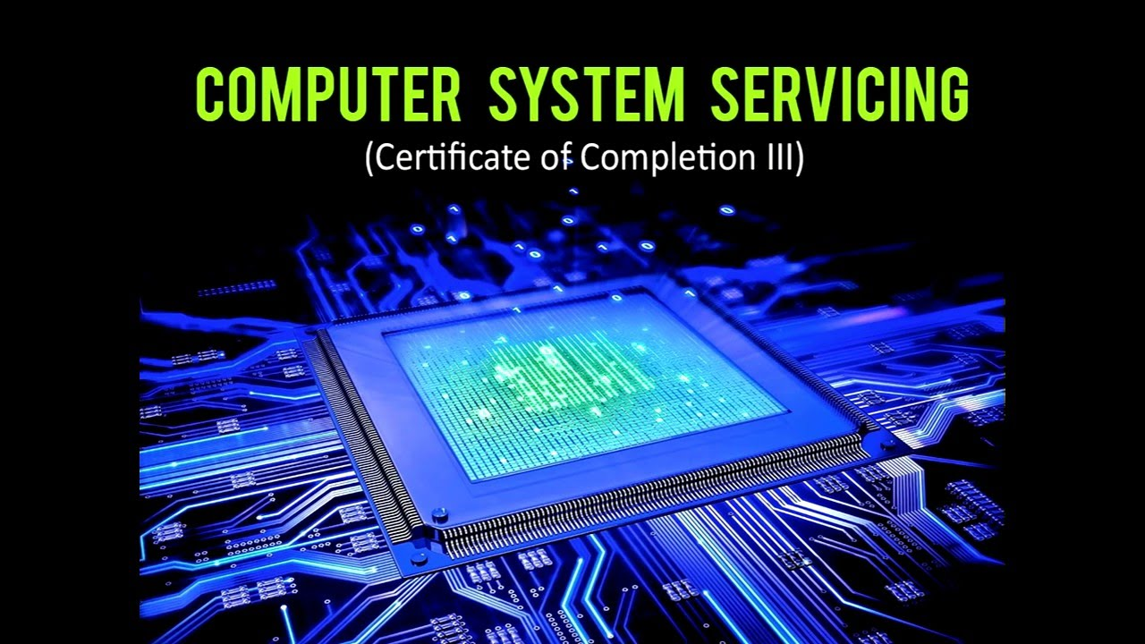 Computer System Servicing- CoC 3 Part I - YouTube
