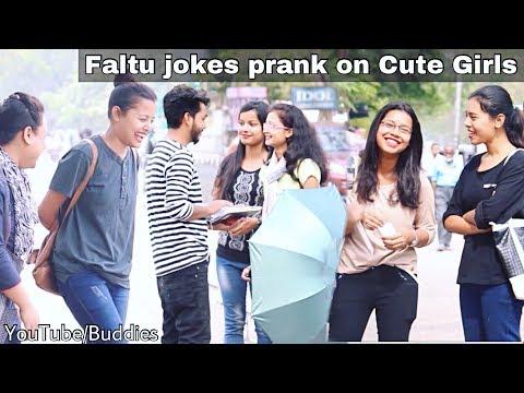 Faltu jokes Prank on cute girls | Gauhati University Part 6 | Assamese Funny Videos | Buddies Assam