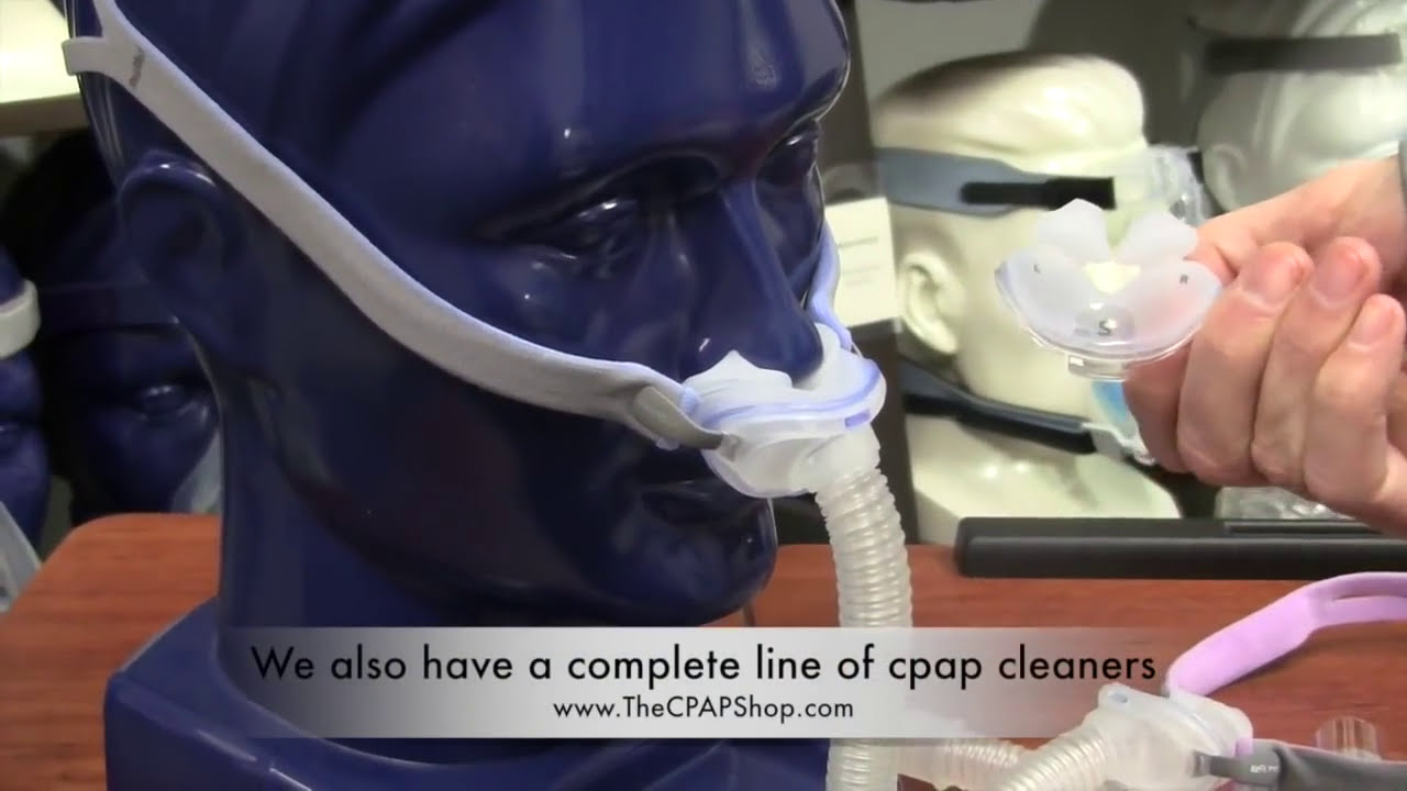 resmed airfit p10 nasal pillow cpap mask overview