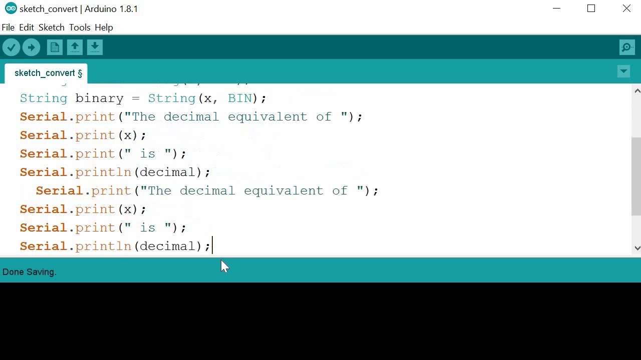 Arduino101 3 Simple Number Conversion With String Youtube