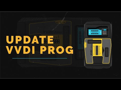 How To Update VVDI PROG