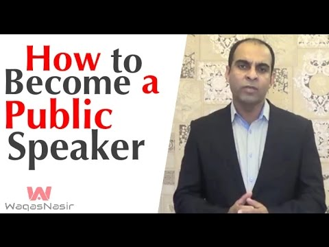 How To Become A Professional Speaker -By Qasim Ali Shah  | In Urdu