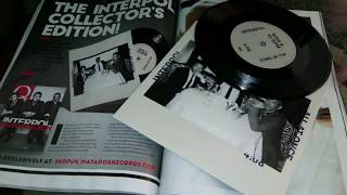Nostalgiaudio Unboxing Interpol Collectors Edition Q Magazine All At Once 7 Inch Vinyl