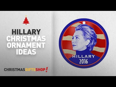 Hillary Christmas Ornament & More: CafePress - Hillary 2016 Ornament (Round) - Round Holiday