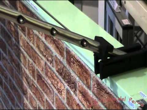 Stendibiancheria stendino braccio d 39 acciaio modello calipso youtube - Stendibiancheria da giardino ad ombrello ...
