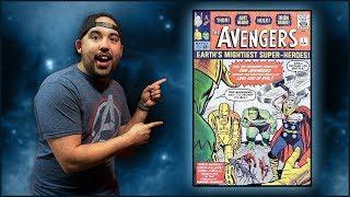We're Giving Away An Avengers #1!