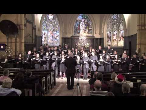 Mid-Winter, by Bob Chilcott: Dec 2009: Cawthra Park Chamber Choir