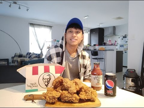 Struggle food - kfc mukbang