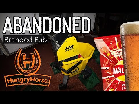 Abandoned HUNGRY HORSE Pub!