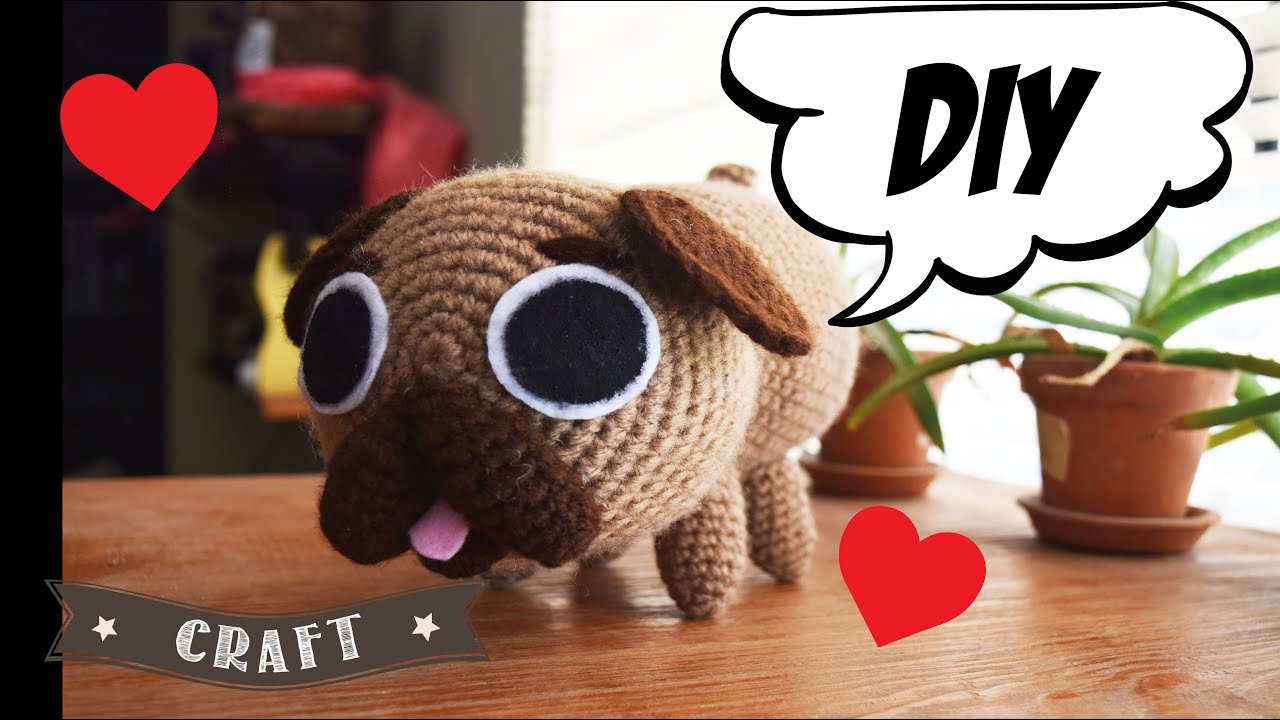 Amigurumi Pug Dog Free Pattern | 720x1280