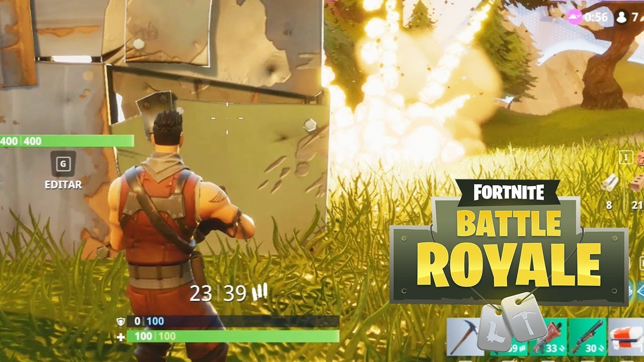NUESTRA PRIMERA VICTORIA!! BATTLE ROYALE (FORNITE)