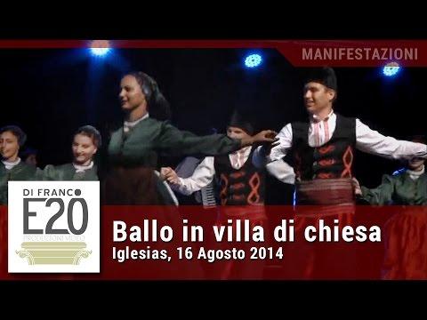 Ballo in Villa di Chiesa 2014 - Iglesias, Festival Internazionale