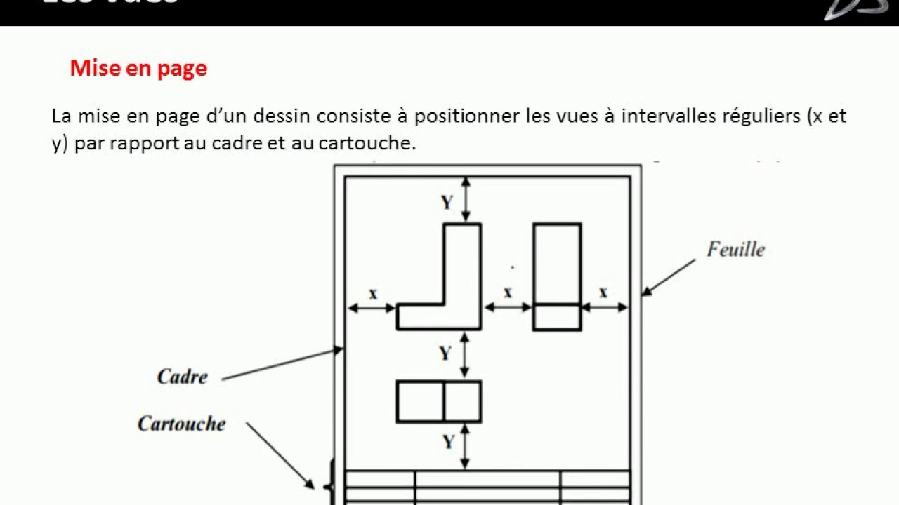 bases du dessin technique industriel d butant 1er niveau youtube. Black Bedroom Furniture Sets. Home Design Ideas