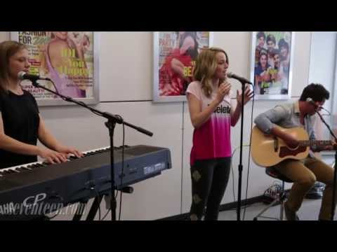 Bridgit Mendler sings to end bullying!