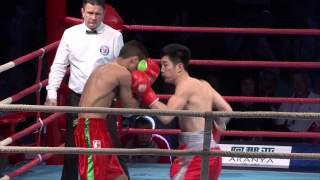 China Dragons v Morocco Atlas Lions - World Series of Boxing Season V Highlights