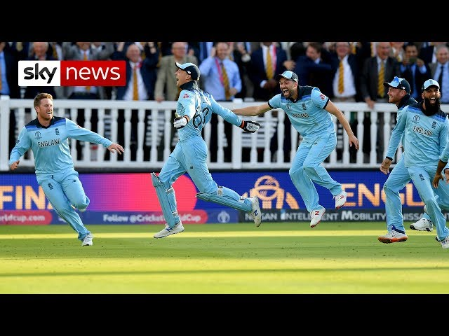England Celebrates: scenes outside Lord's after historic victory