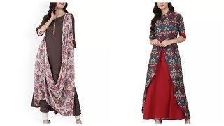 Double layer kurti designs,New…