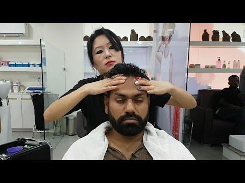 Asmr Indian Female To Male Head Massage Episode 2( Studio 11)