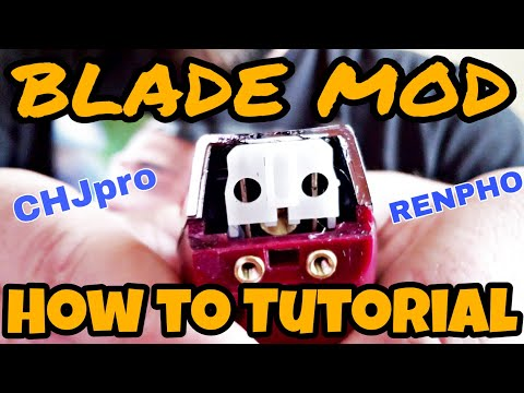 CHJ Pro & Renpho BLADE MOD How To!