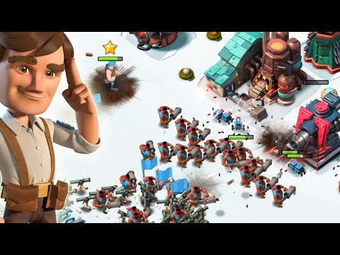 Boom Beach HOOKA WITH TAUNT!! New HEAVY Tribe Boosts!