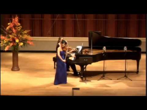 Suyeon Kang | Joseph Achron | Hebrew Melody | 2014 Indianapolis International Violin Competition