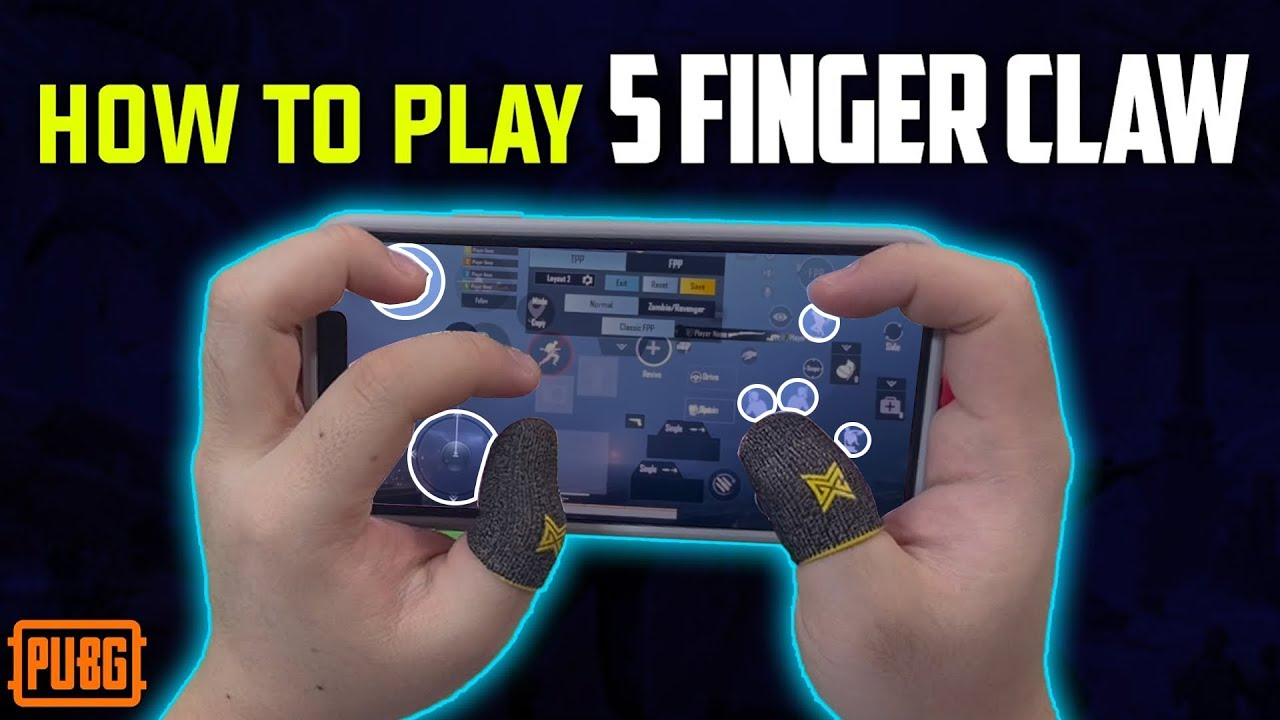 5 FINGER CLAW – Everything you need to know   PMPL Highlights   PUBG MOBILE   Chinese Pro Player