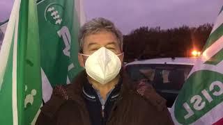 Presidio di protesta degli operatori sanitari
