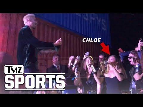 Chloe Kim Crushes Cardi B Rap with G-Eazy at ESPYs Party | TMZ Sports
