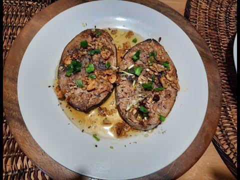 Buttered Garlic Yellow Fin Tuna