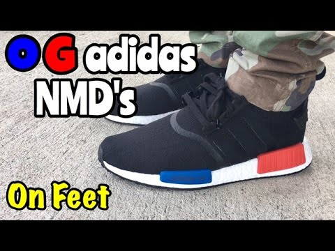 Adidas NMD R1 Primeknit OG PK S79168 Black OG 100% Authentic