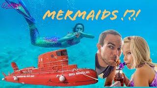 "Morske deklice so priplavale do nas / Mermaids in ""Mermaid cove"" Video"