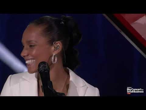 Alicia Keys - No One Live #BigConcertSmallBiz After Concert Super Bowl LV 2021