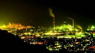 工場夜景 大王製紙工場など 愛媛県四国中央市 Night View - Paper Mill Factory
