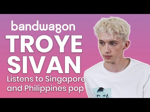 Troye Sivan reacts to pop music from Singapore and Philippines | Bandwagon Taste-Test