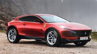 FERRARI Purosangue 2022 | Avrà motore V12 ... e V6 turbo PHEV!
