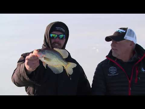 Castle Rock Ice Fishing with Ice Junkies Outdoors- Larry Smith Outdoors