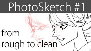 PHOTO SKETCH - How to draw from photo reference (#01)