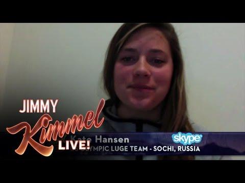 "Jimmy Kimmel Reveals ""Epic #SochiFail: Wolf in My Hall"" Prank"