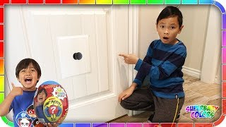 I Found A Secret Door To Ryan's Toys Review House